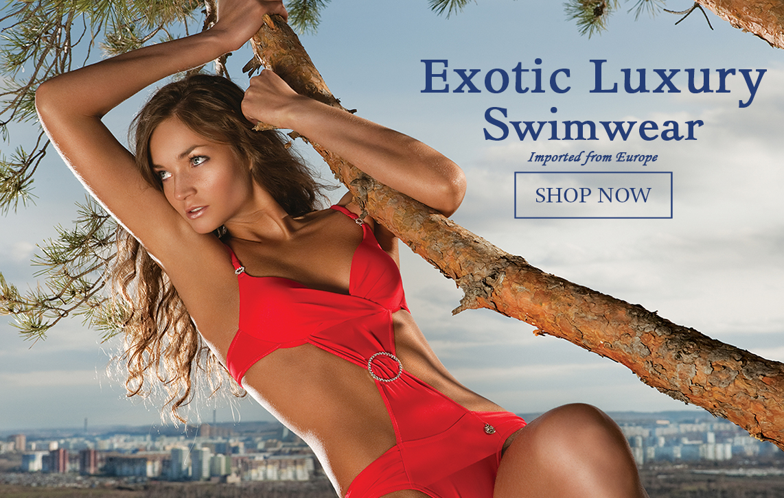 Exotic luxury swimwear shop now